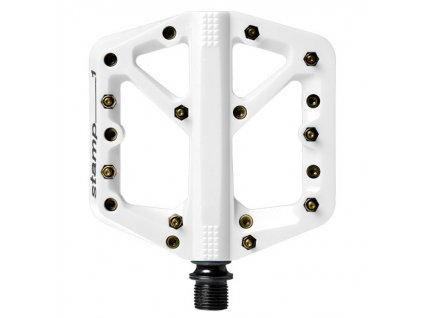 CRANKBROTHERS Stamp 1 Small Summer White / Gold pins