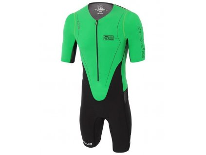 DS LONG COURSE TRI SUIT Green Front Side 1500x