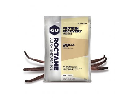GU Roctane Recovery Drink Mix 61 g - Vanilla Bean SÁČEK (best by 1/2021