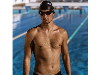 Zone3 Venator-X Swim Goggles – Josh Amberger Signature Line - Black/Neon Orange - Photochromatic