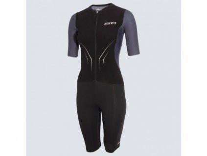 Women's Aeroforce-X Trisuit - Black/Grey