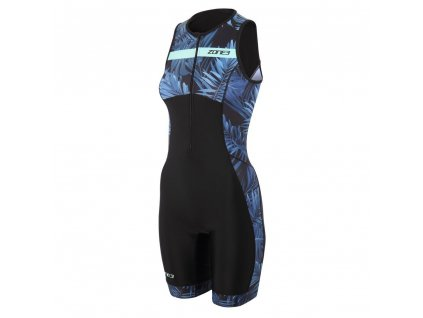 Zone3 Triwear Activate 2B Womens Cutout Trisuit Hawaiia Front 2048x