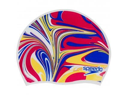 speedo junior slogan cap white blueflam lavard surgeyel 965372