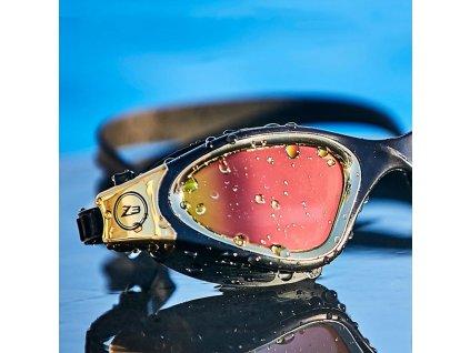 Vapour Goggles - POLARIZED LENS - WHITE/SILVER - OS