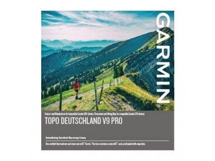Turist. mapa, Německo, TOPO Germany v9 PRO, microSD/SD