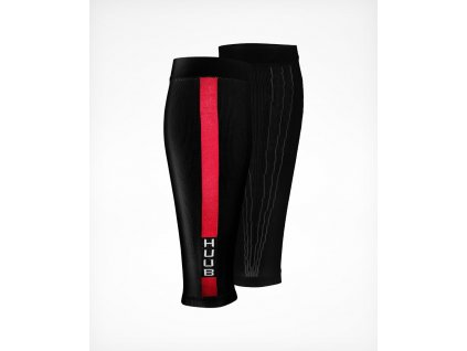 Compression Race Calf Sleeve Black Double 1500x