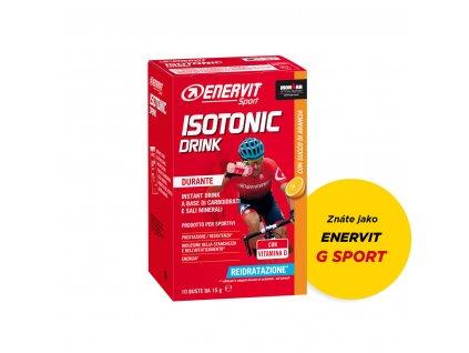 ENERVIT Isotonic Drink (G Sport) - 10x 15 g - pomeranč