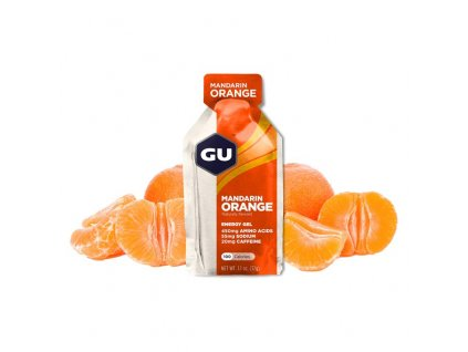 GU Energy Gel 32 g - Mandarin/Orange 1 SÁČEK (balení 24ks)