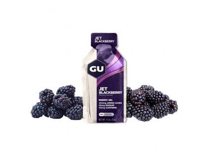 GU Energy Gel 32 g Jet Blackberry 1 SÁČEK (balení 24ks)