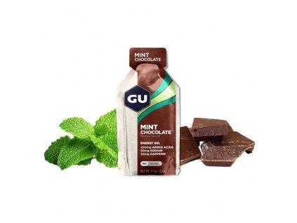 GU Energy Gel 32 g - Mint Chocolate 1 SÁČEK (balení 24ks)