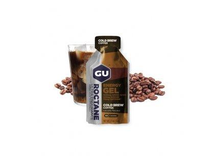 GU Roctane Energy Gel 32 g Cold Brew Coffee 1 SÁČEK (balení 24ks)
