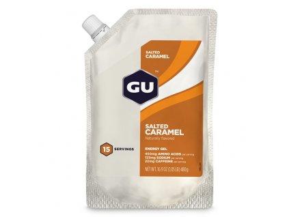 GU Energy Gel 480 g - Salted Caramel - 15 dávek