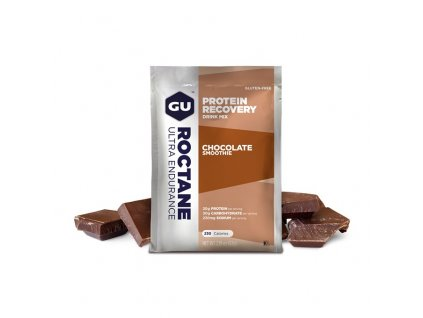 GU Roctane Recovery Drink Mix 62 g Chocolate Smoothie SÁČEK