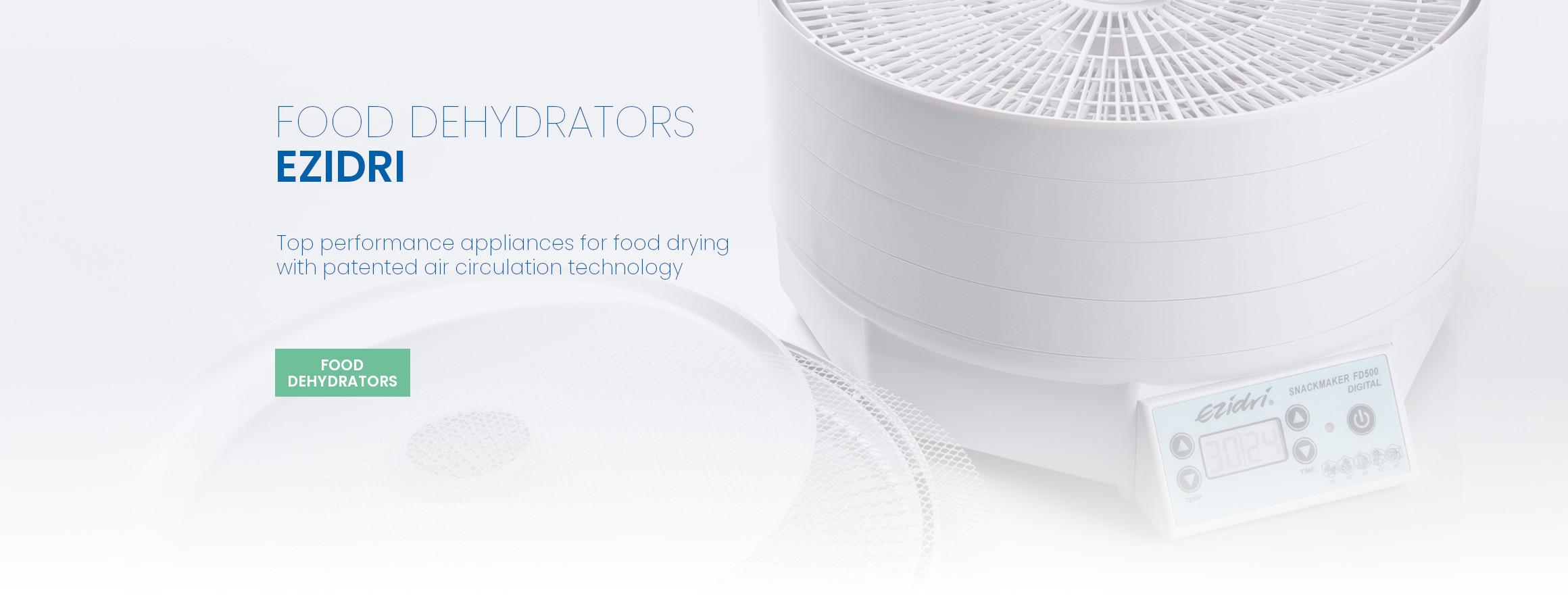 EZIDRI food dehydrators