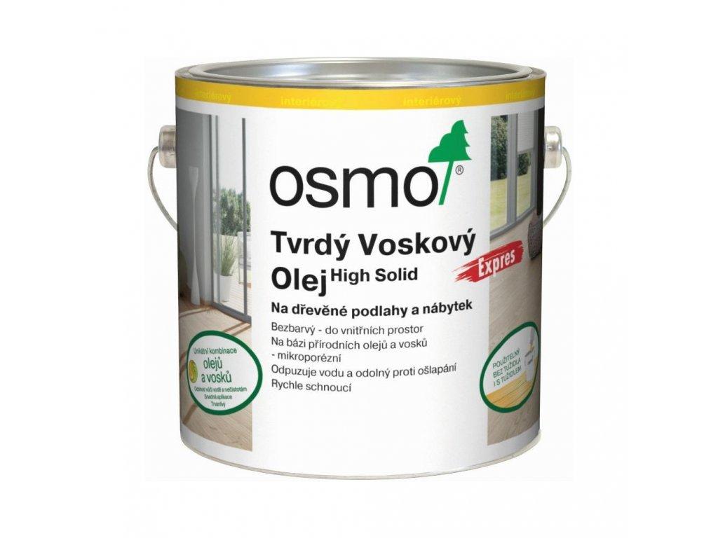 Tvrdý voskový olej Osmo 3332 expres
