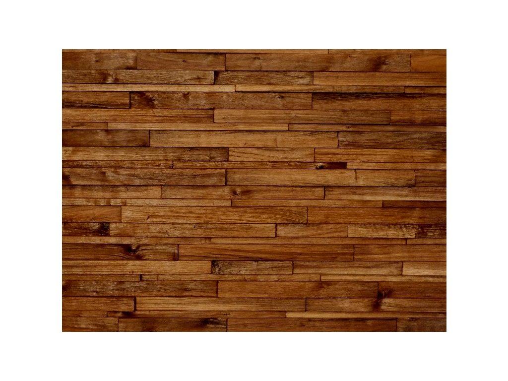 Dřevěný obklad americký ořech štípaný