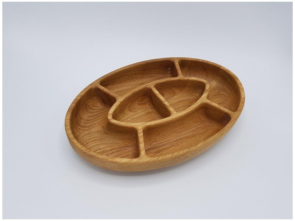 Elipsa 6 miska dřevěná