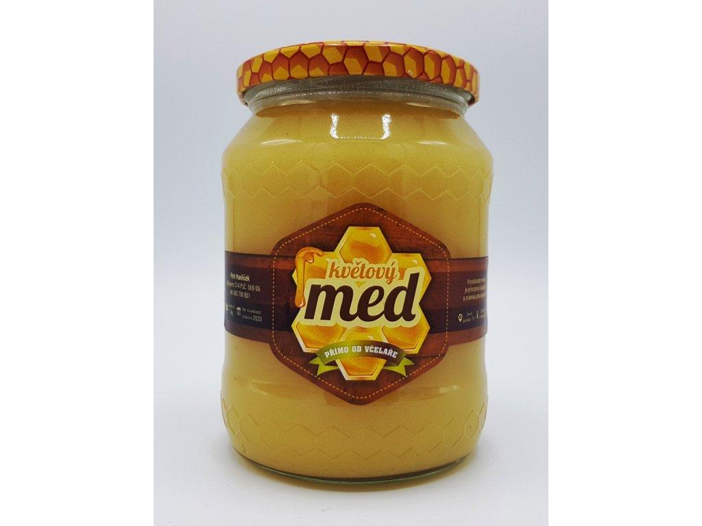 Včelí med lesní