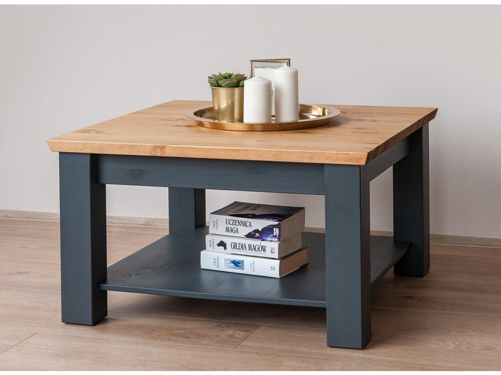 Marone grafitový stolek malý