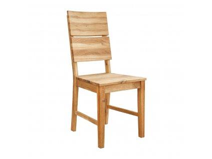 Jídelní dubová židle