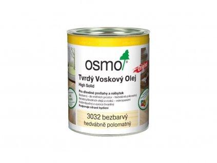 Osmo 3032 tvrdy voskovy olej originál bezbarvý