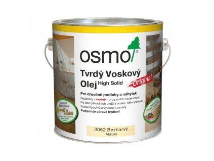 Tvrdý voskový olej osmo