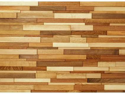 Obklad dřevěný hoblovaný směs dřevin