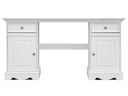 Belluno Elegante psací stůl bílý