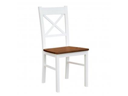 Jídelní židle KT22 podsedák dřevo ořech