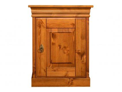 Toskania noční stolek medový