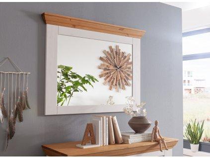 Marone zrcadlo borovicový rám