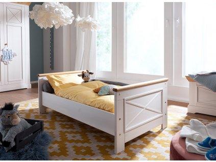 Dětská postel masiv borovice junior