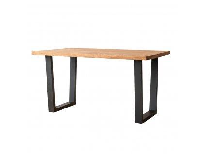 Gavardo dubový stůl kovové nohy