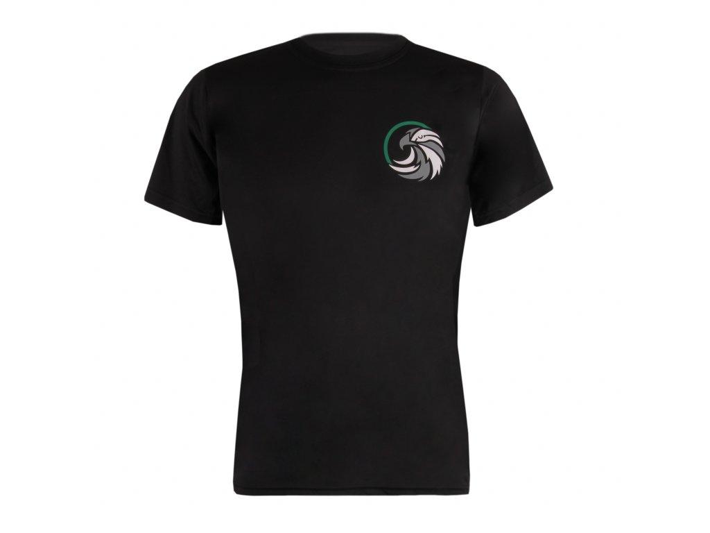 Tričko pánské předek černé