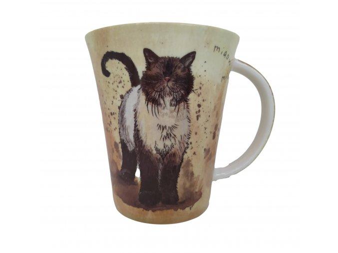 hrnek kočka