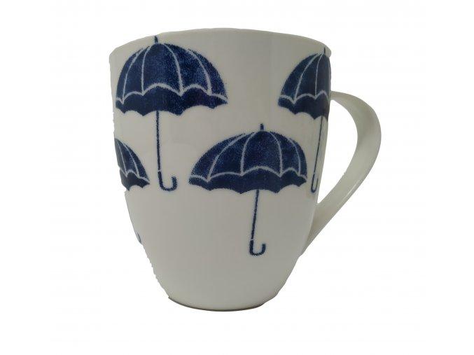 hrnek s děštníky