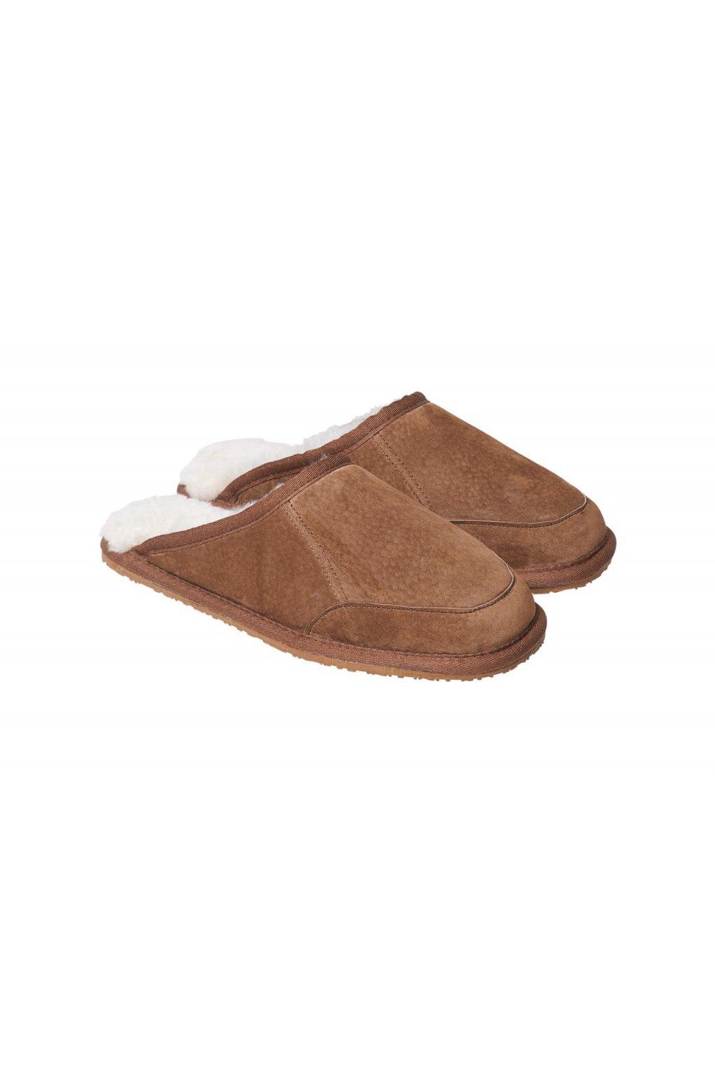Pantoffel Caldo nuss 1