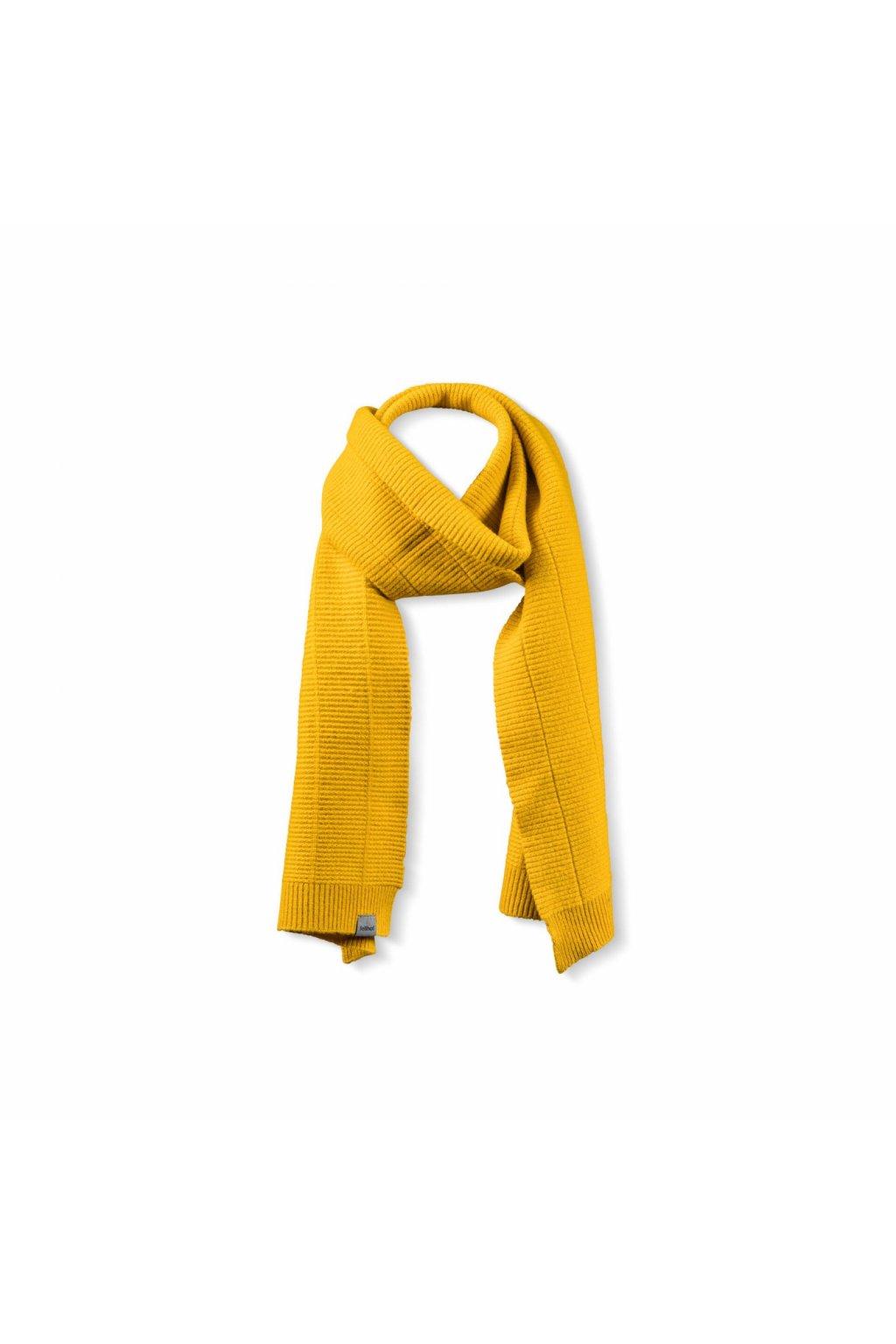 merino strickschal gelb a191b1dkouge6fr