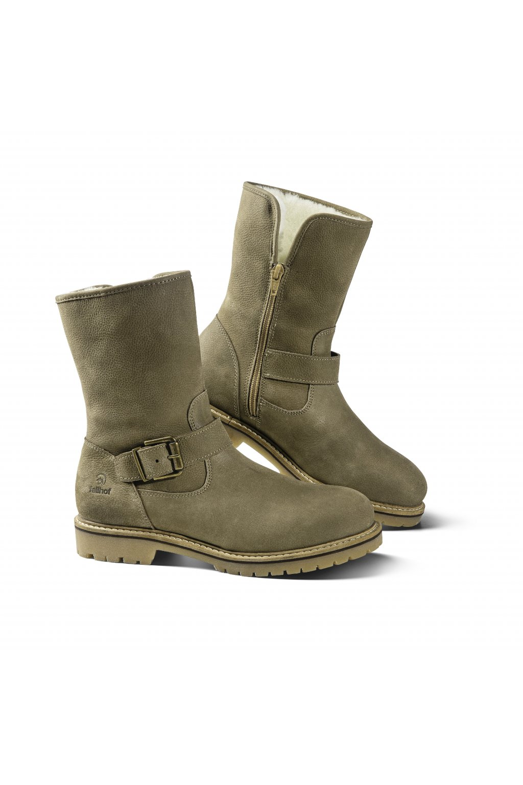 stiefel damen adeline taupe