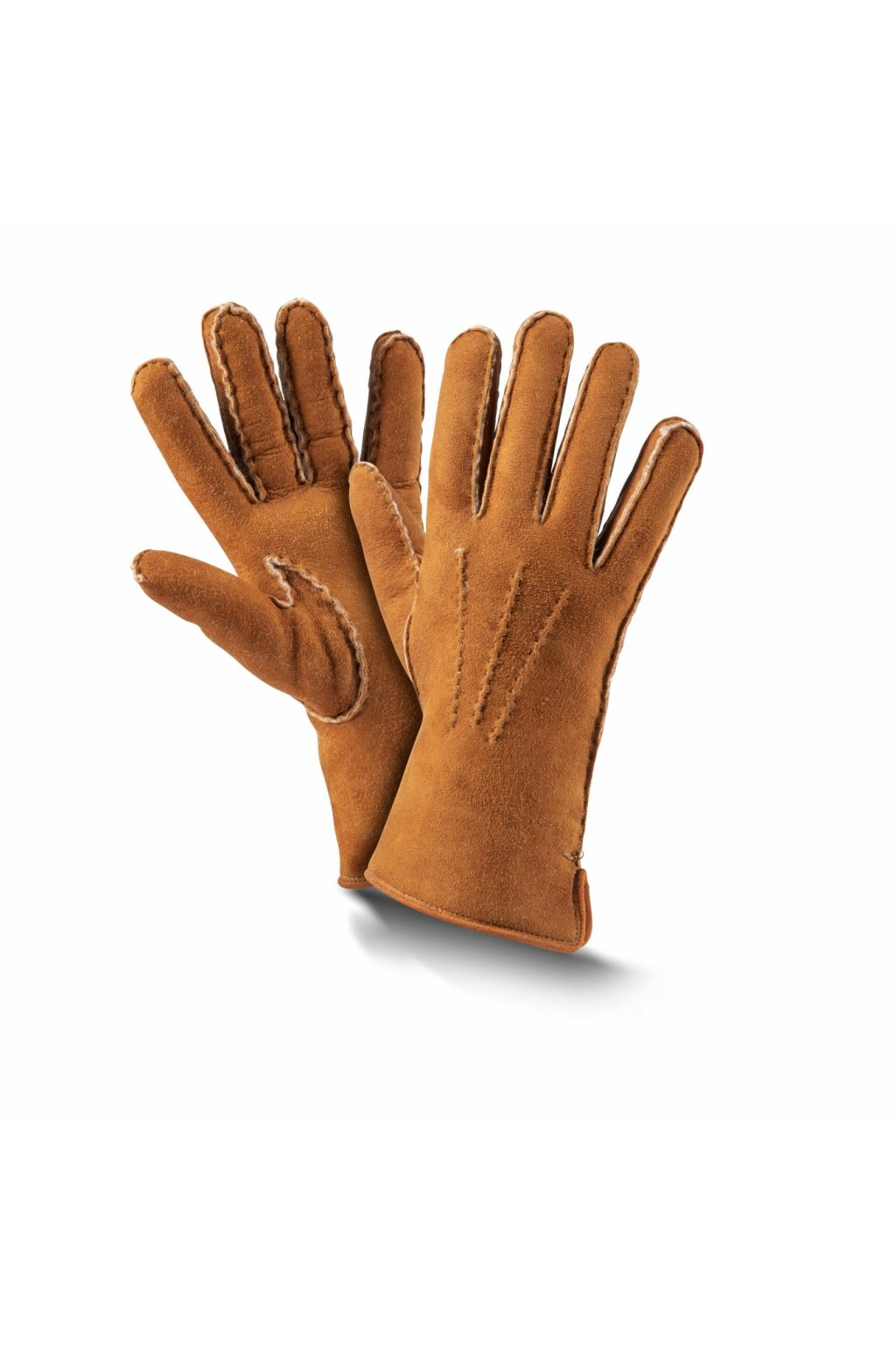 fingerhandschuhe premium cognac muglzt3tc0coc2x