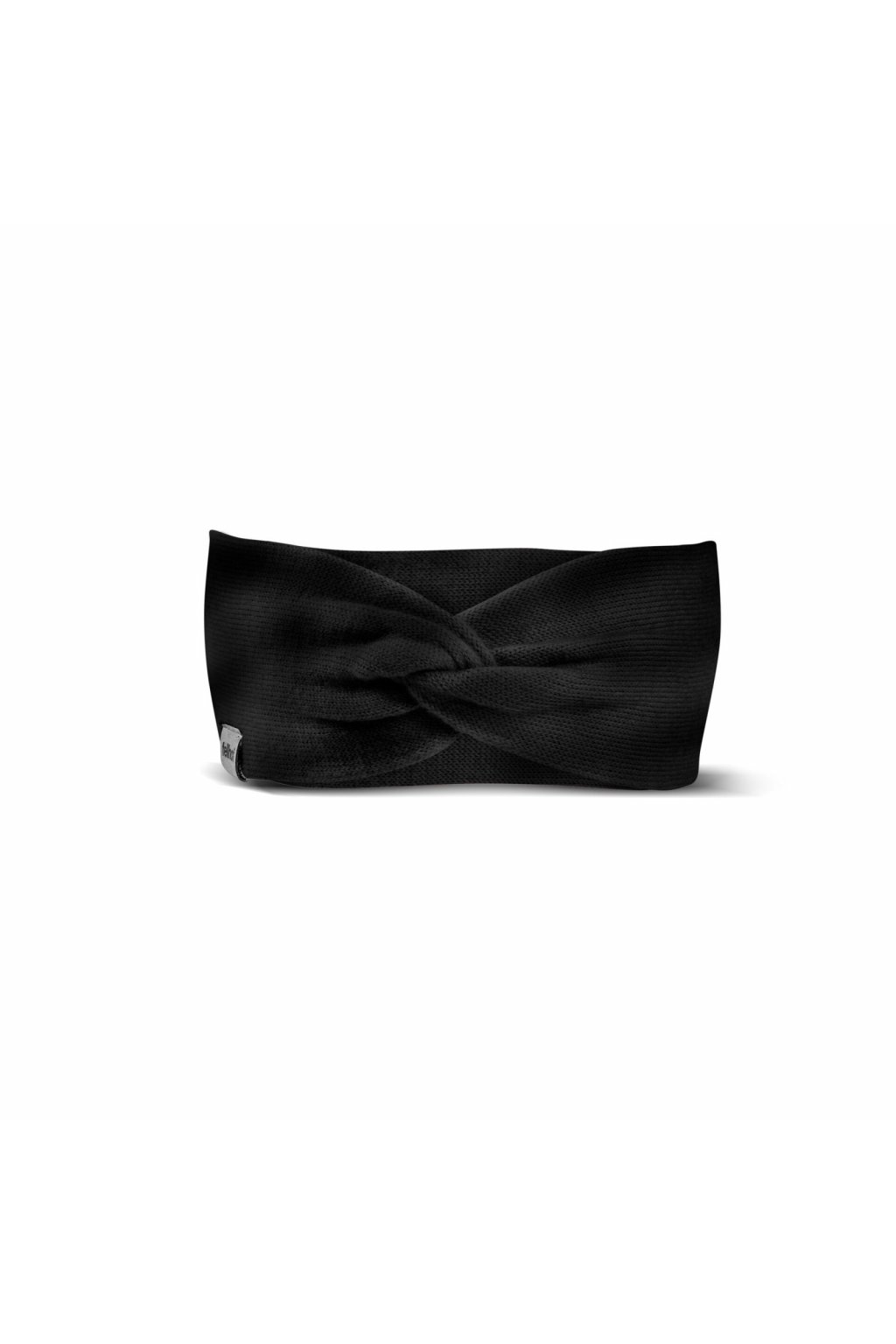 Merino Stirnband HANNAH schwarz 0