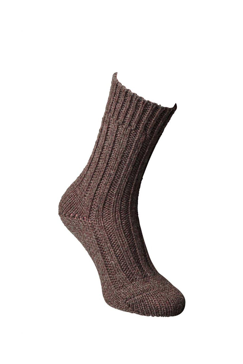 Ponožky ze střižní vlny