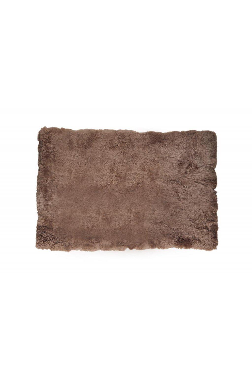 Koberec z jehněčí kožešiny 120 x 180 cm