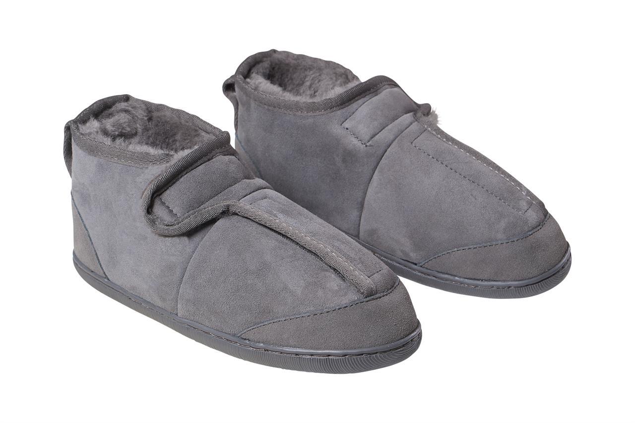 Domácí obuv SANIS Zvolte variantu: Antracitová, Velikost: 36