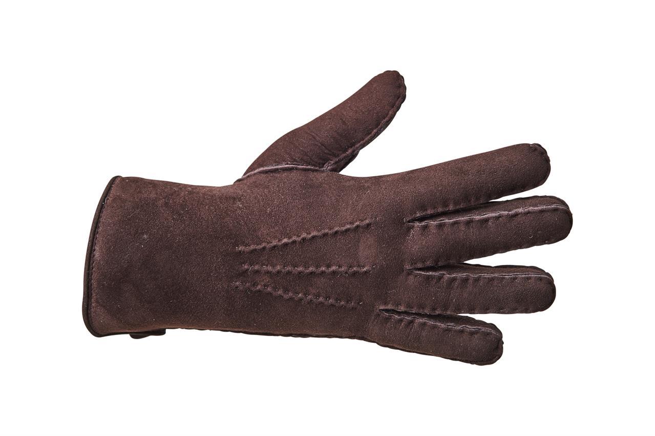 Rukavice prstové PREMIUM dámské Barva: Tmavě hnědá, Velikost: 7