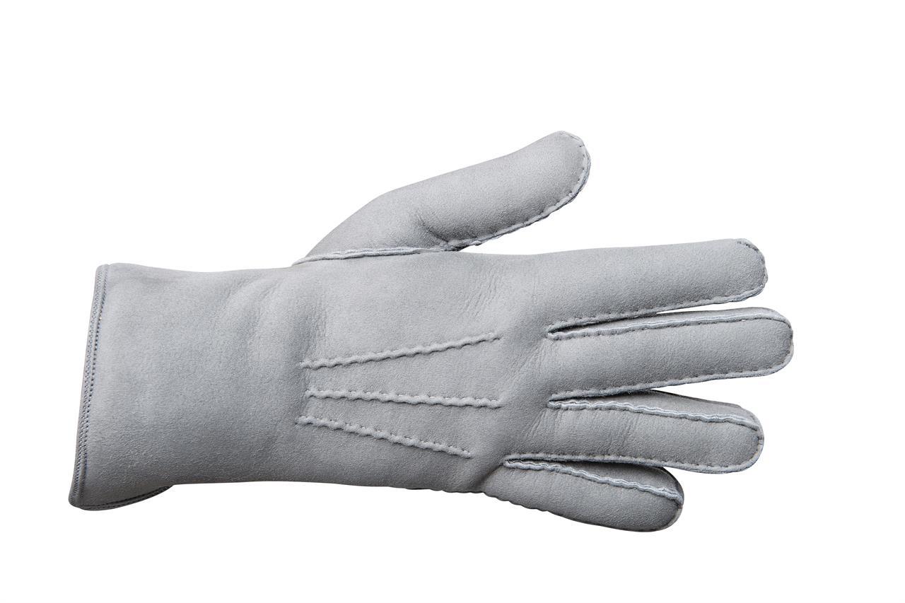 Rukavice prstové PREMIUM dámské Barva: Šedá, Velikost: 7