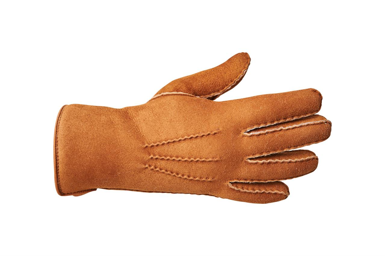 Rukavice prstové PREMIUM dámské Barva: Cognac, Velikost: 7
