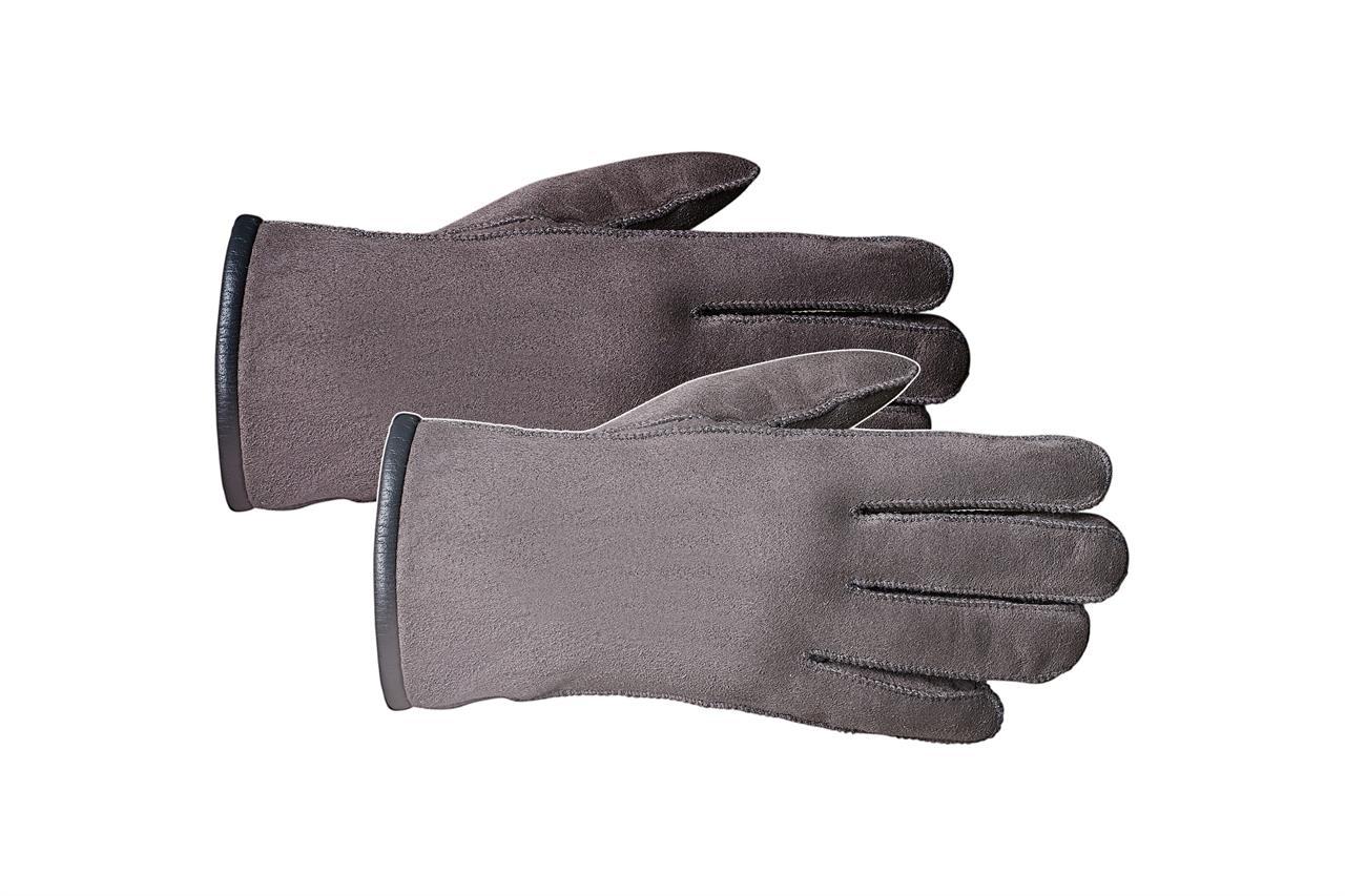 Rukavice prstové CLASSIC Barva: Šedá, Velikost: 7