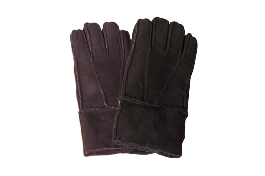Rukavice prstové patchwork Barva: Tmavá, Velikost: 7