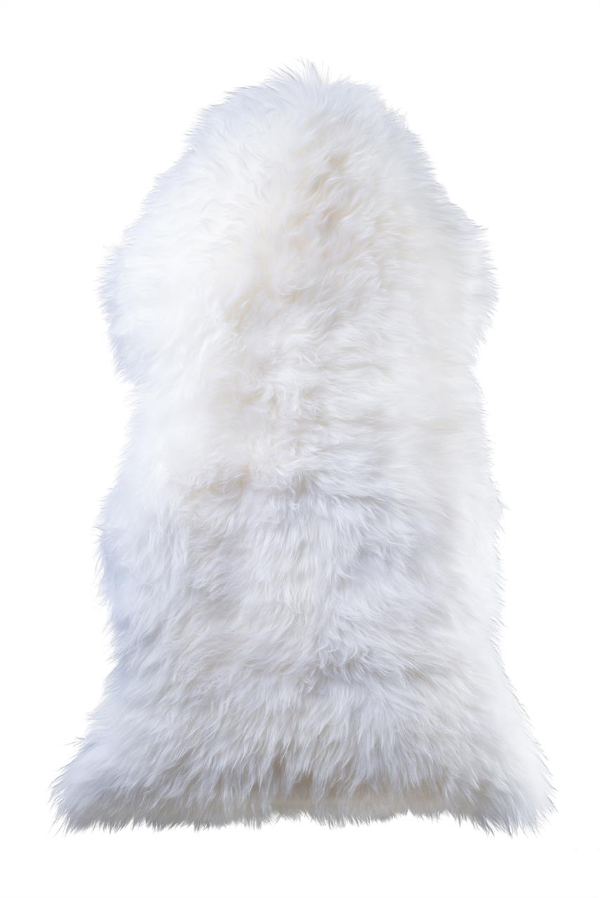 Jehněčí kožešina Barva: Bílá, Velikost: 115+ cm